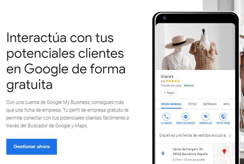 Crear tu Google My Business